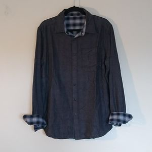 Merrell Reversible Button Down Gauze Shirt